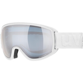 UVEX Topic FM sphere Goggles white mat/mirror silver